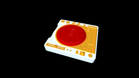 Music Equipment - Mixer Stock Video Footage