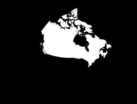 Globe Set 10 - Canada Matte Stock Video Footage