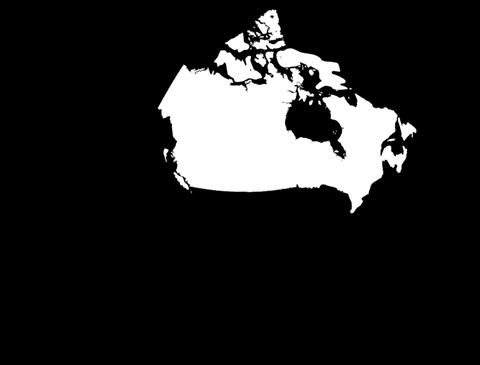 Globe Set 10 - Canada Matte Stock Video Footage