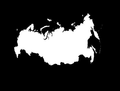 Globe Set9 - Russia Matte Stock Video Footage