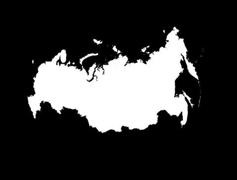 Globe Set9 - Russia Matte Animation