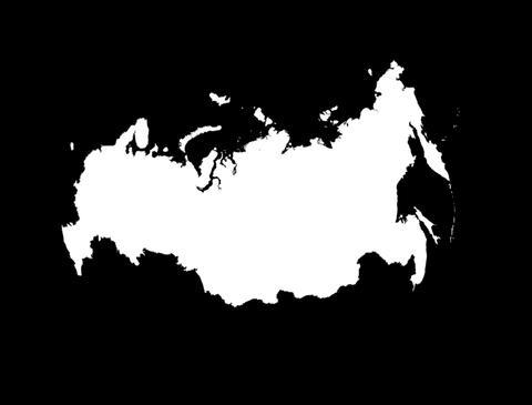Globe Set9 - Russia Matte Stock Video Footage