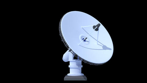 Satellite Dish Stock Video Footage