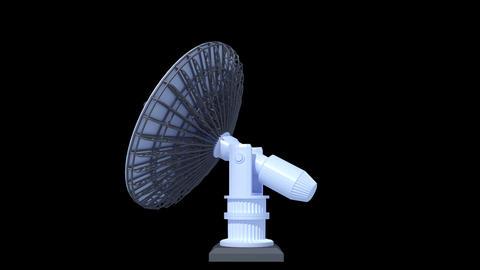 Satellite Dish Stock Video Footage