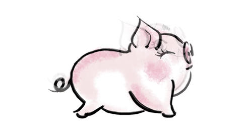 Zodiac Pig Animation