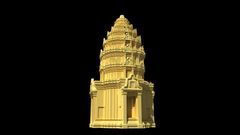 Cambodia - Angkor Wat Animation