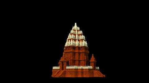 Indonesia - Borobudur Temple Stock Video Footage