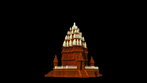 Indonesia - Borobudur Temple Animation