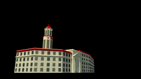 Philippines - Manila City Hall Stock Video Footage