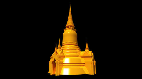 Thailand - Grand Palace Stock Video Footage