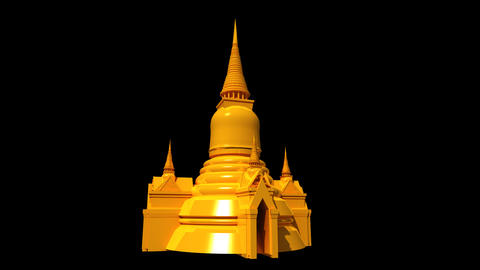 Thailand - Grand Palace Animation