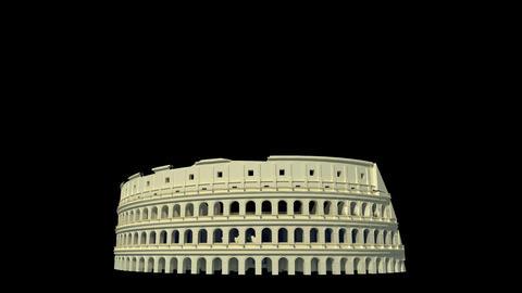 Italy - Roman Colosseum Animation