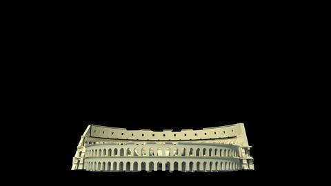 Italy - Roman Colosseum Stock Video Footage