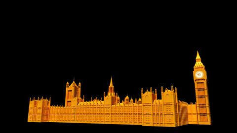 UK - Big Ben Stock Video Footage