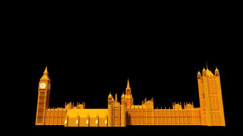UK - Big Ben Stock Video Footage