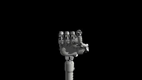 Robotic Hand No1 Stock Video Footage