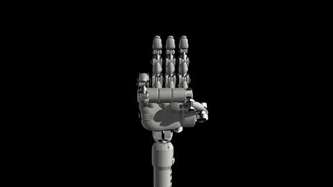 Robotic Hand No3 Animation