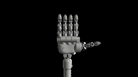 Robotic Hand No5 Animation