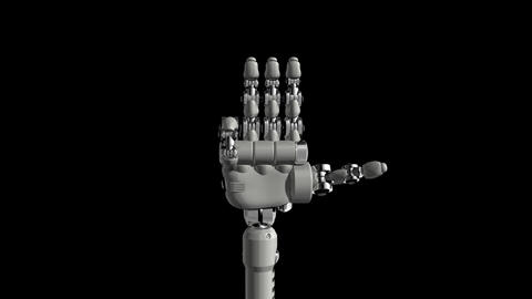 Robotic Hand No9 Animation