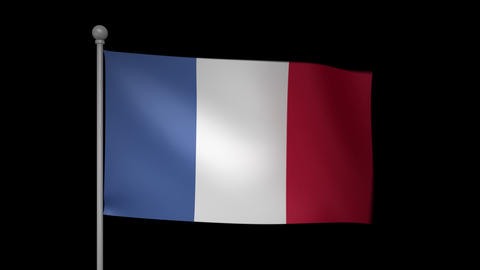 France Flag Animation