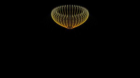 Water Fountain UFO Swing Stock Video Footage