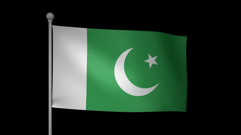 Pakistan Flag Animation