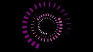 Cubist Spiral stock footage