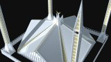 Pakistan - Faisal Mosque 3D Model