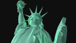 USA - Statue of Liberty 3D 모델