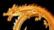 Chinese Dragon stock footage
