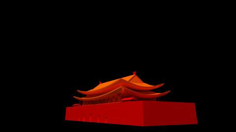 China - Beijing Tiananmen Stock Video Footage
