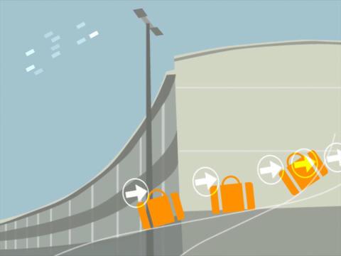 Passenger CG動画素材
