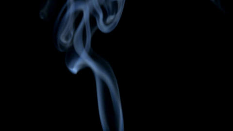 Graceful Smoke Stock Video Footage