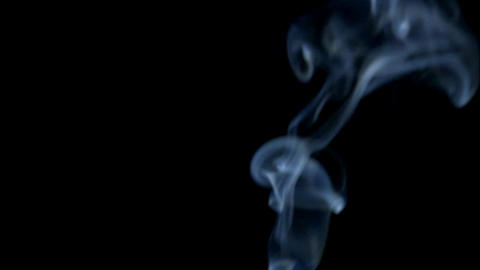 Graceful Smoke Stock Video Footage