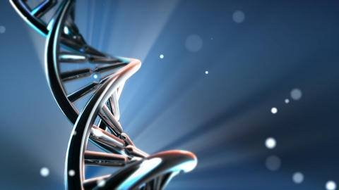 Chrome DNA Stock Video Footage