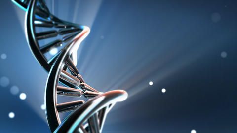 Chrome DNA Animation