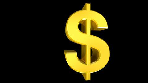 Dollar Wipe Stock Video Footage