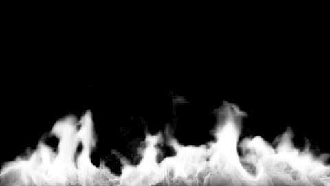 Fire burning bottom Stock Video Footage