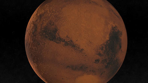 Mars Flyby Animation