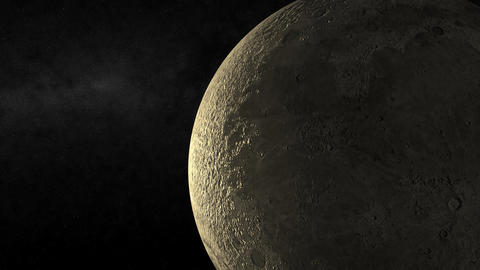 Moon Passing Stock Video Footage