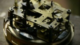 internal structure of Watch,bearings,gears Footage