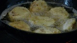 Pan fried with delicious food,Cooking Footage