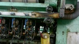 Reeling machine and Textile machine in operation.Bearings,screws,bolts Footage