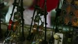 Reeling machine in operation Footage
