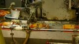Silkworm cocoon at silk factory.Workers reeling at workshop Footage