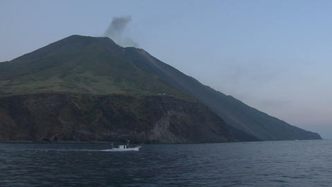 Stromboli 05 Stock Video Footage