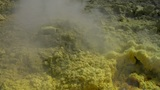 Vulcano fumarole close up 05 Footage