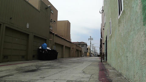 Backstreet Alley 01 Stock Video Footage