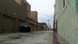 Backstreet Alley 01 Footage