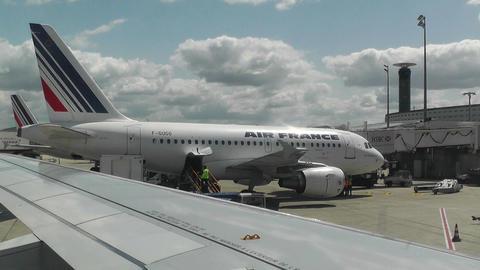 Paris France Charles De Gaulle International Airport 01... Stock Video Footage